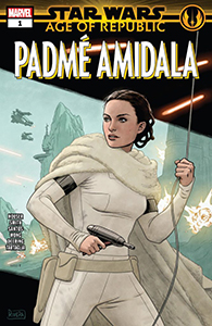 Cover zu Age of Republic: Padmé Amidala #1