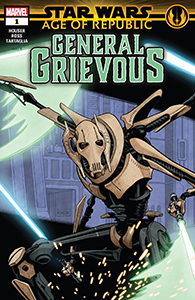 Cover zu Age of Republic: General Grievous #1