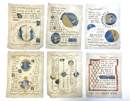 Konzepte für einige der Blätter von Chris Kitisakkul