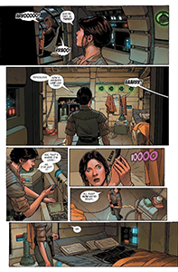 Vorschauseiten zu Age of Rebellion: Princess Leia #1