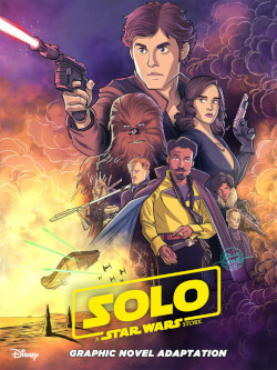 Solo - Graphic Novel Adaptation - Cover