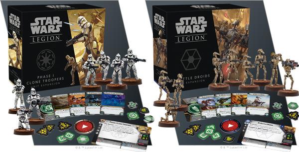 Star Wars: Legion - Phase I Klontruppler Erweiterung & B1 Kampfdroiden Erweiterung