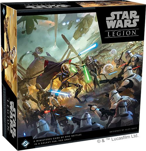 Star Wars: Legion - Klonkriege Grundspiel