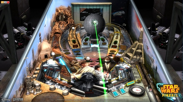 Star Wars Pinball auf der Nintendo Switch