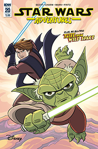 Cover zu Star Wars Adventures #20