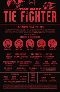 Vorschauseiten zu TIE Fighter #1