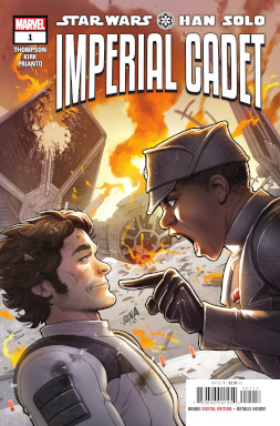 Han Solo: Imperial Cadet - US-Cover