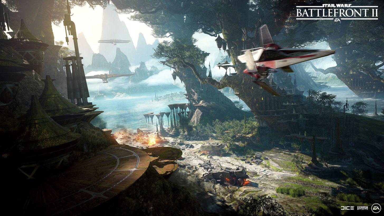 Star Wars Karte.Battlefront Ii Kashyyyk Wird Nächste Karte Für Totale Vorherrschaft