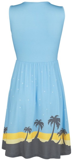 Scarif - Mittellanges Kleid