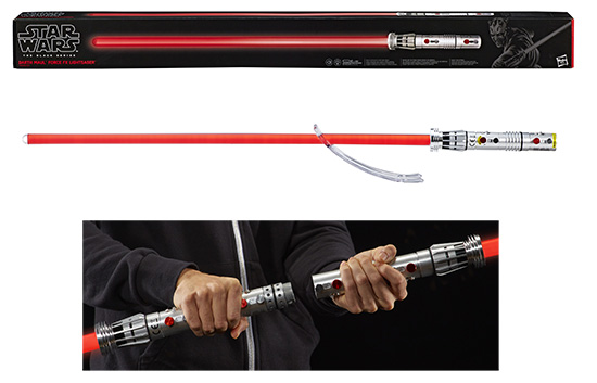 Darth Maul Ep1 - Force FX Lightsaber