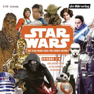 Die Star Wars-Saga für Kinder erzählt - Cover
