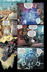 Vorschauseiten zu Galaxy's Edge #2