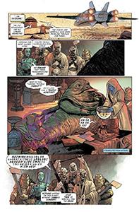 Vorschauseiten zu Age of Rebellion: Jabba The Hutt #1