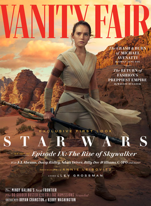 Vanity Fair Cover: Star Wars -  Der Aufstieg Skywalkers