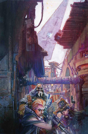 Star Wars: Star Wars: Galaxy's Edge #5 - Cover