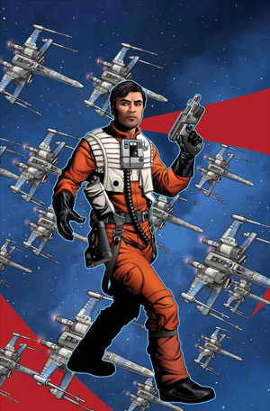 Star Wars: Star Wars: Age of Resistance: Poe Dameron #1 - Puzzle Piece Variant Cover