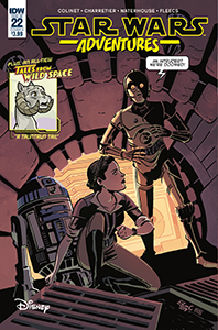 Cover zu Star Wars Adventures #22
