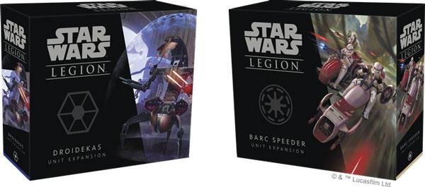 Star Wars: Legion - Droideka & BARC-Gleiter