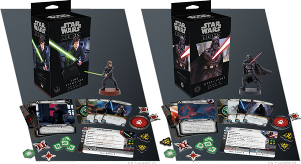 Star Wars Legion: Luke Skywalker & Darth Vader Erweiterung