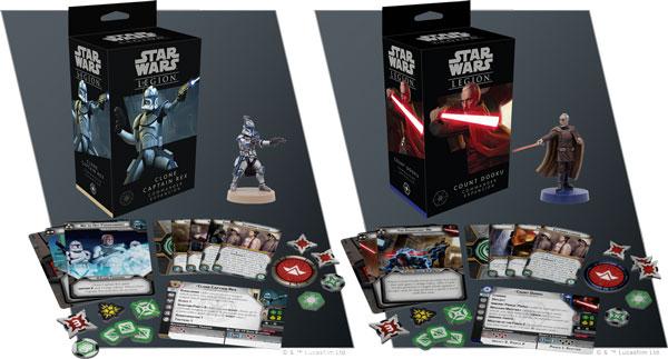 Star Wars Legion: Captain Rex & Count Dooku