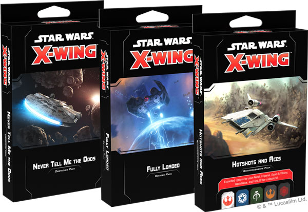 Star Wars X-Wing: Kartenpacks