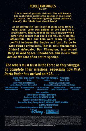 Vorschauseiten zu Star Wars #71