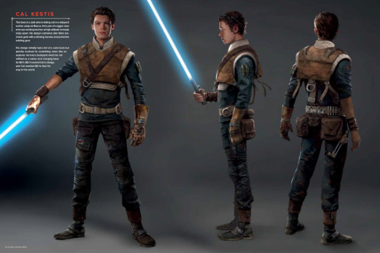 The Art of Star Wars Jedi: Fallen Order - Vorschau 1