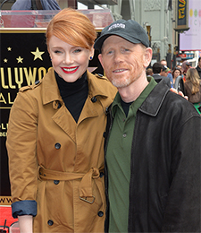 Bryce Dallas & Ron Howard