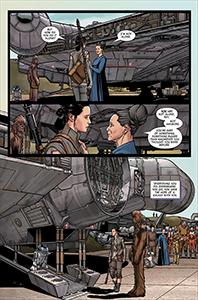 Vorschauseiten zu Age of Resistance: Rey #1