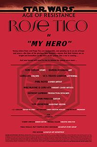 Vorschauseiten zu Age of Resistance: Rose Tico #1