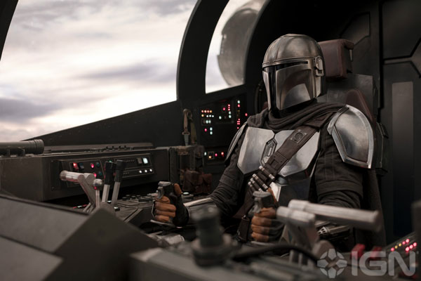 Das Cockpit der Razorcrest aus <em>The Mandalorian</em>