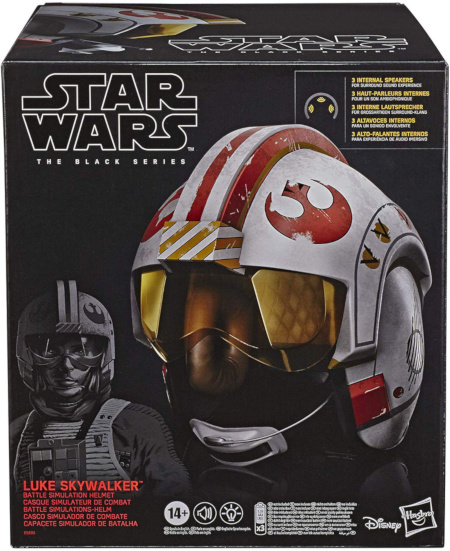 Luke Skywalker Battle Simulation Helmet
