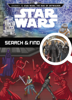 The Rise of Skywalker Search & Find - Cover
