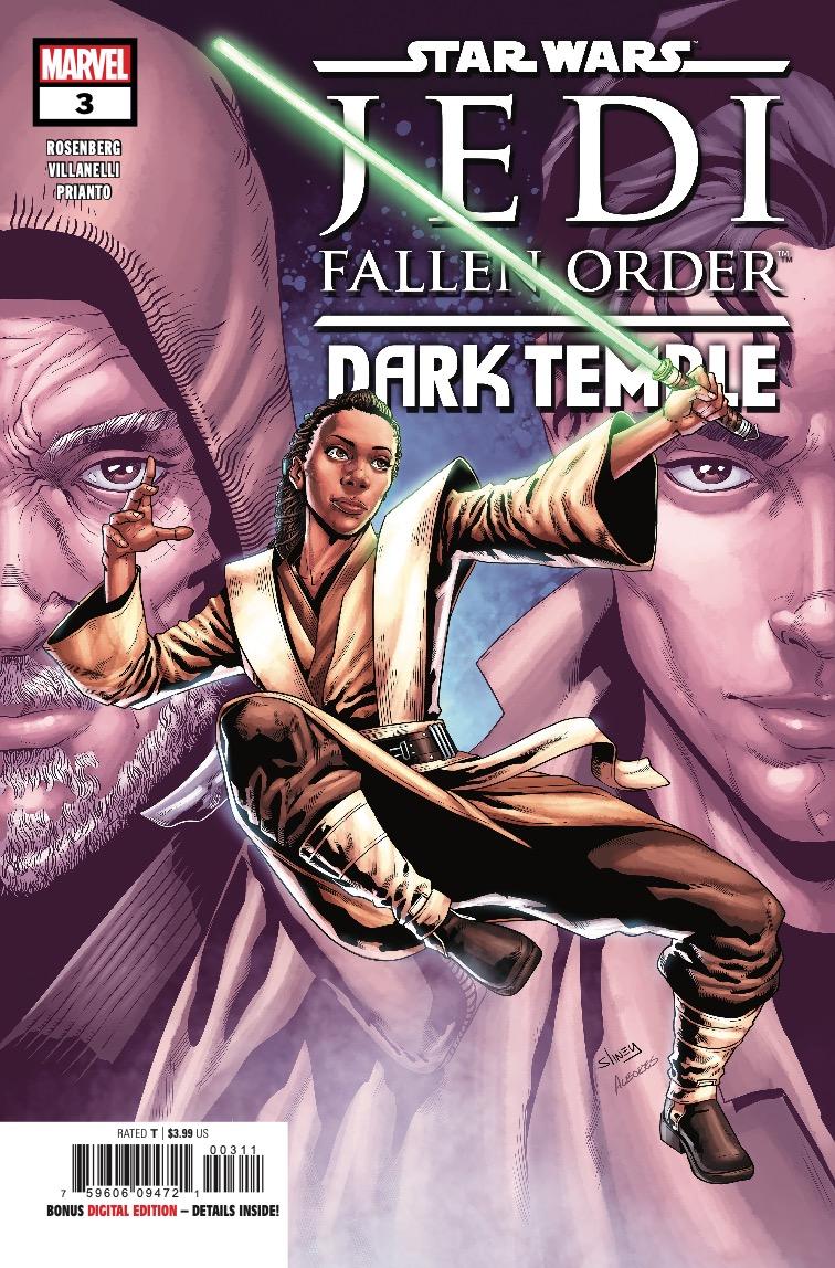 Cover zu Jedi: Fallen Order: Dark Temple #3