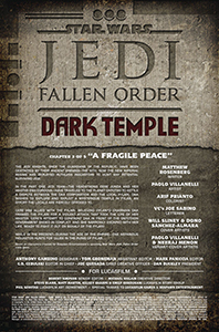 Vorschauseiten zu Jedi: Fallen Order: Dark Temple #3
