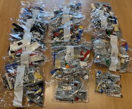 Imperialer Sternenzerstörer - Tüten mit LEGO-Steine