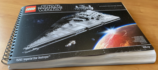 Imperialer Sternenzerstörer - Ringbuch