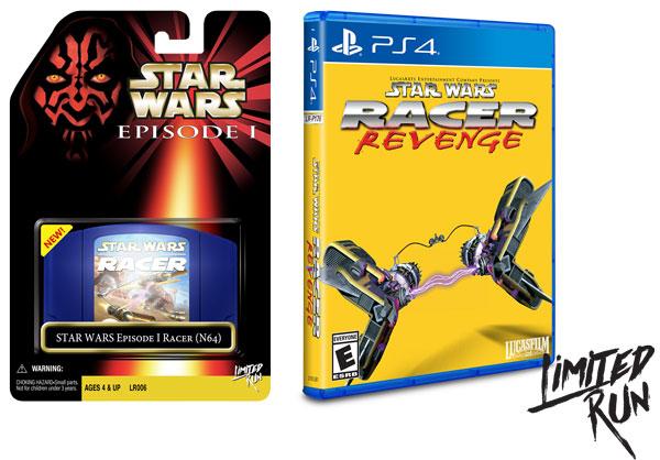 Racer und Racer Revenge von Limited Run