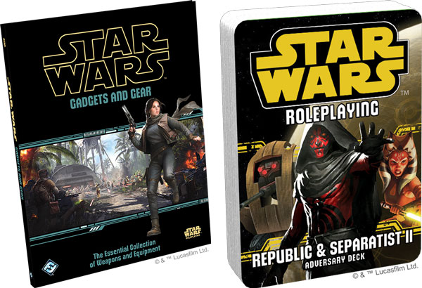 Star Wars Rollenspiele: Gadgets and Gear