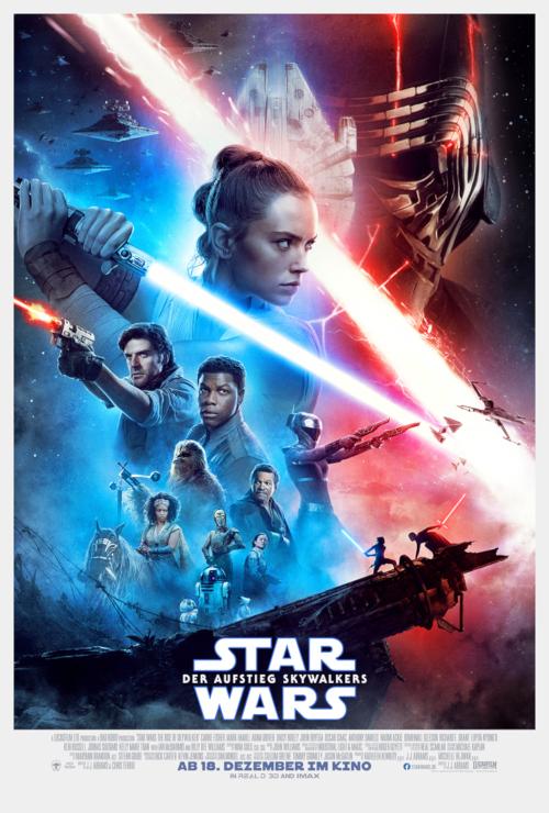 Der Aufstieg Skywalkers - Dt. Hauptplakat
