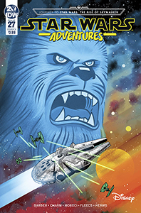 Cover zu Star Wars Adventures #27