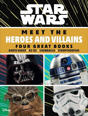 Meet the Heroes / Meet the Villains boxset