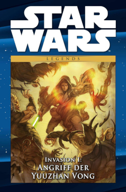 Invasion I: Angriff der Yuuzhan Vong - Cover