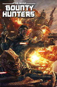 Bounty Hunters #2 Cover