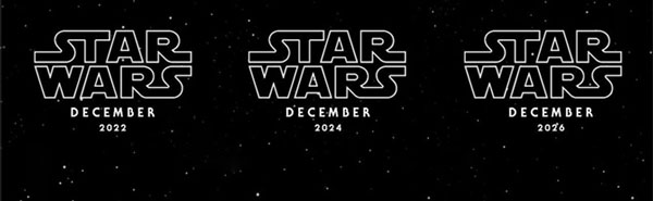 Die nächsten Star Wars Filme