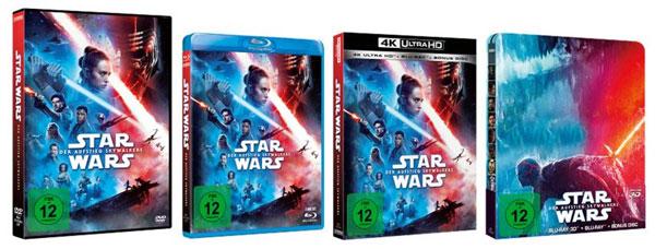Heimkinoveröffentlichung von Star Wars: Der Aufstieg Skywalkers