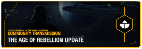 Star Wars Battlefront II: The Age of Rebellion Update