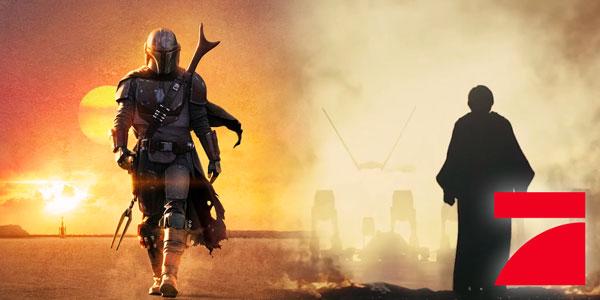 Star Wars auf ProSieben: The Mandalorian und Die letzten Jedi im Free TV