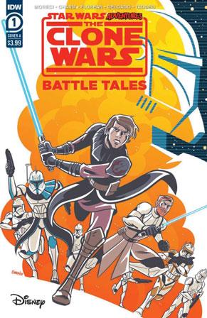 Star Wars Adventures: The Clone Wars - Battle Tales #1