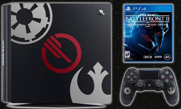 Playstation 4 Pro Battlefront II Design